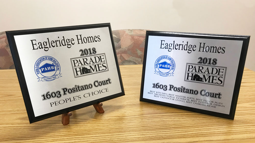 2018 Parade Of Homes Awards